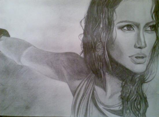 Jennifer Lopez by Yaroslava